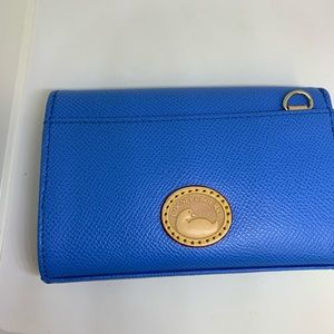 DOONEY & BOURKE SMALL LEATHER POUCH SQUARE